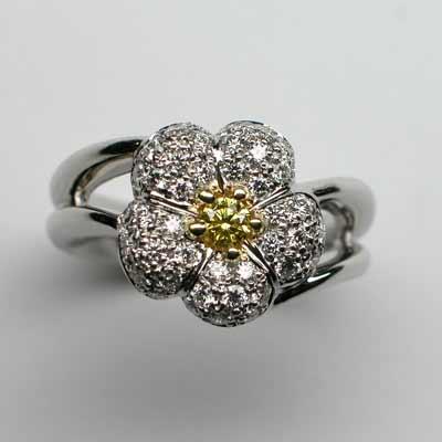 花びら一つのリング